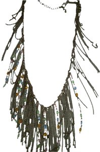 Chain strands Necklace Frayed Colorful J316