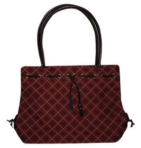 Dooney & Bourke Tote in Red Plaid