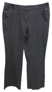 New York & Company Straight Pants Dark grey