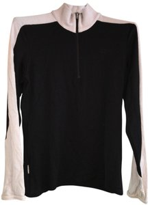 Icebreaker Long Sleeve Women's L Half Zip Thumb Holes N.zealand Merino Sweater