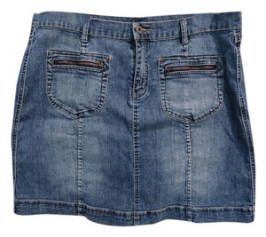 Carolina Blues Skirt Denim