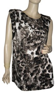 Kenneth Cole Top Black, brown, gray