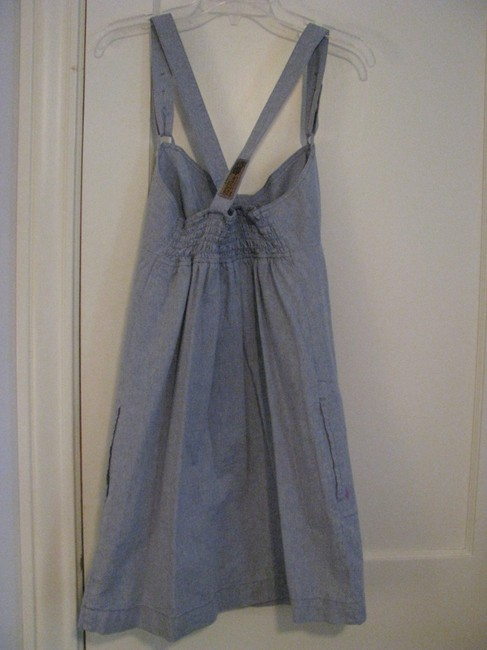 Volcom short dress Light Blue Denim on Tradesy