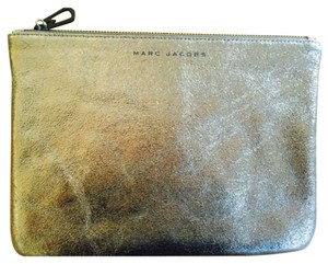 Marc Jacobs Metallic Graphite Clutch