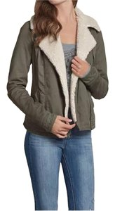 Hollister Women Fall Military Jacket