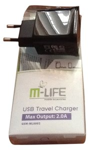 M-LIFE USB Travel Charger