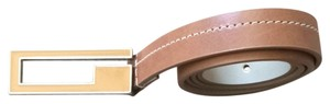Guess Brown Leather Guess Belt