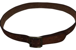 Abercrombie & Fitch Beautiful Leather Hole Punch Belt
