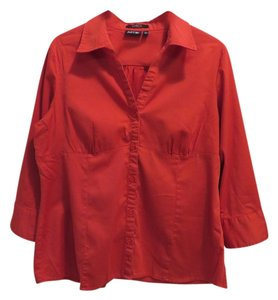 Apt. 9 Button Down Shirt red
