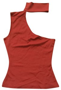 Guess Top Red W/rhinestones
