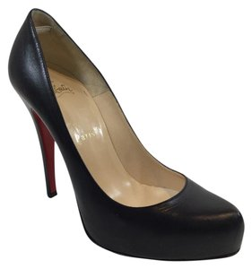 Christian Louboutin Rolando Pumps Black Platforms