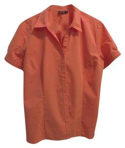 Apt. 9 Button Down Shirt Peach