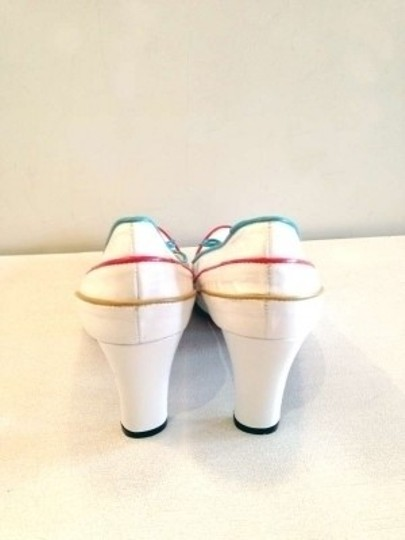 Sacha London Summer Sailor Vintage white Platforms
