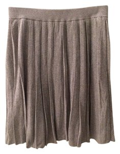 Club Monaco Glitter Skirt Grey