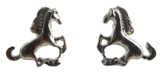 Unknown BOGO Free Silver Stud Horse Earrings Free shipping
