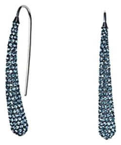 Michael Kors Michael Kors Statement Blue Crystal Pave Teardrop Earrings MKJ4028