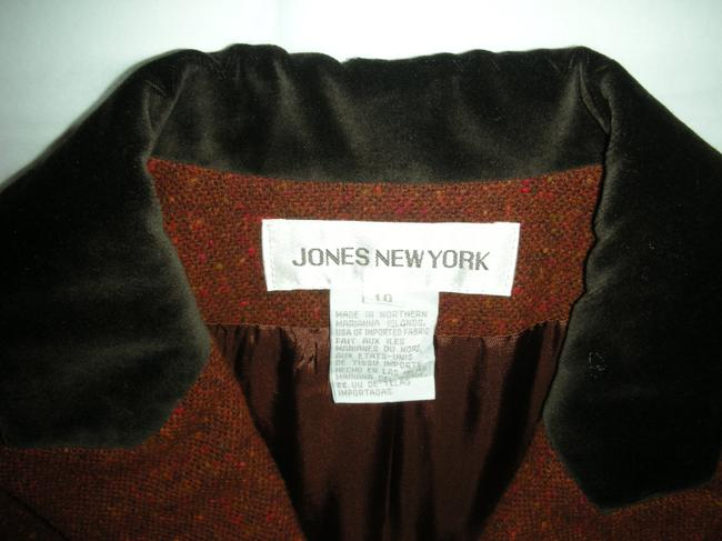 Jones New York Burnt Orange Blazer