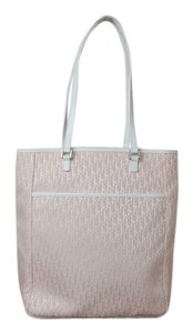 Dior Christian Tote in pink