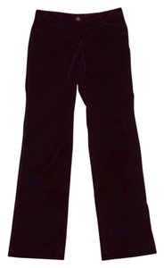 Dolce&Gabbana Wine Velvet Athletic Pants