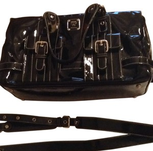 MCM Satchel in Black