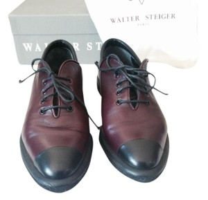 Walter Steiger Oxford Professional Lace-up Black, Wine Flats