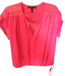 BCBGMAXAZRIA Top Fuschia