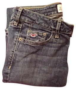 Hollister 1slim 25x31 Dark Wash & Co. Boot Cut Jeans-Dark Rinse
