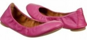 Lucky Brand Magenta (more purple than pink) Flats
