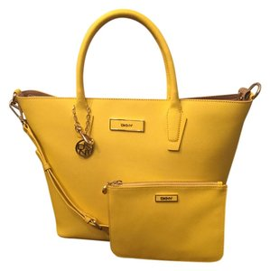 DKNY Tote in Yellow