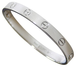 Cartier Cartier Love Bracelet White Gold