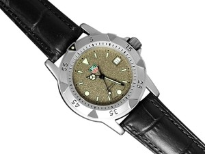 TAG Heuer Tag Heuer Professional 1500 Mens Diver Granite Dial Watch - Stainless Steel - WD1211-K-20