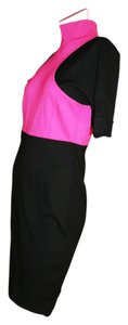 Karl Lagerfeld short dress Pink/Black Color-blocking Short Sleeve Above Knee on Tradesy