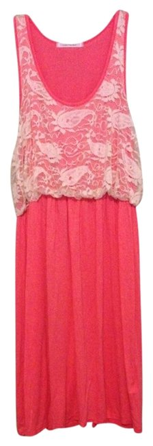 Color Me Red short dress Pink on Tradesy