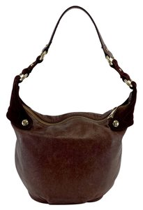 Marc Jacobs Small Brown Leather Shoulder Bag
