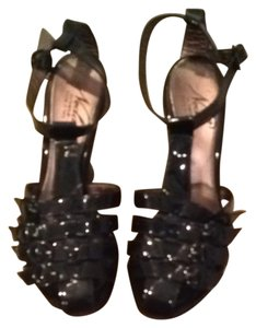 Neda by bebe Black Sandals
