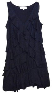 Ann Taylor LOFT short dress Navy on Tradesy