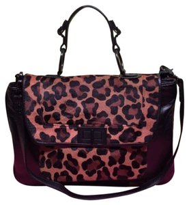 Rebecca Minkoff Satchel in Black Brown