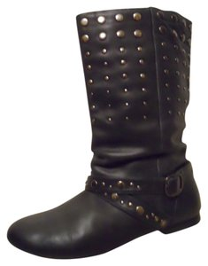 ALDO Studded Leather black Boots