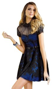 Alyce Designs Short Sleeves Alyce Lace Dress