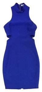Elizabeth and James short dress Sleeveless Blue Cut Out on Tradesy