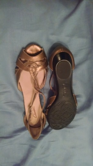 Clarks Copper Wedges