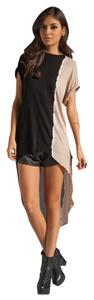 Young Fabulous & Broke Tunic Ombre Asymmetric Yfb Top