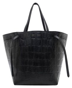 Céline New Never Worn Tags Attached Cabas Tote in Black