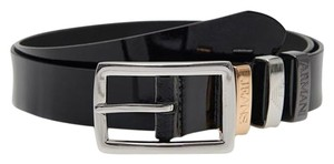 Armani Jeans Classic belt from Armani Jeans [ 41.5(US) / 105(IT) ] #39997 black leather