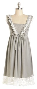 Modcloth short dress Grey on Tradesy