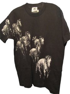 Buffalo David Bitton T Shirt black with white print