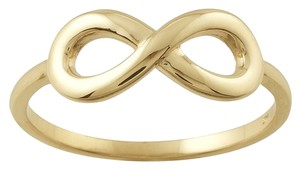 Other 14K Yellow Gold Infinity Ring