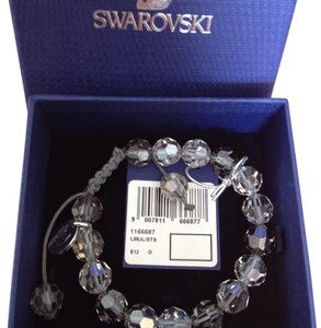 Swarovski Swarovski Simple Silvershade Satin Moonlight Bracelet