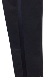 Maje Tuxedo Evening Size 4 Straight Pants Black
