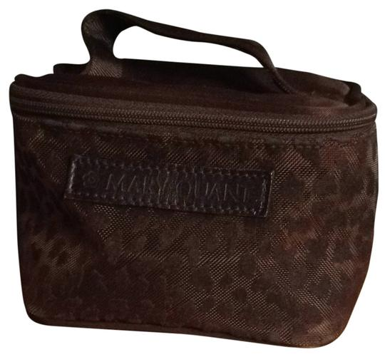 Mary Quant Mesh Leopard Cosmetic Bag